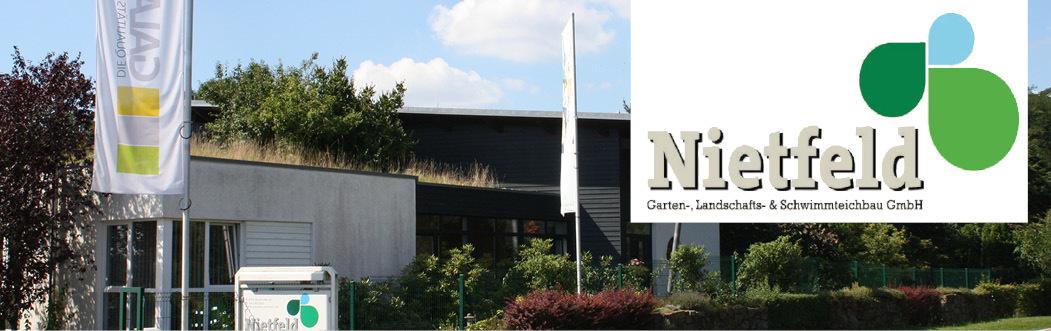 azubify - Gärtner/in bei Nietfeld Garten-, Landschafts- & Schwimmteichbau GmbH