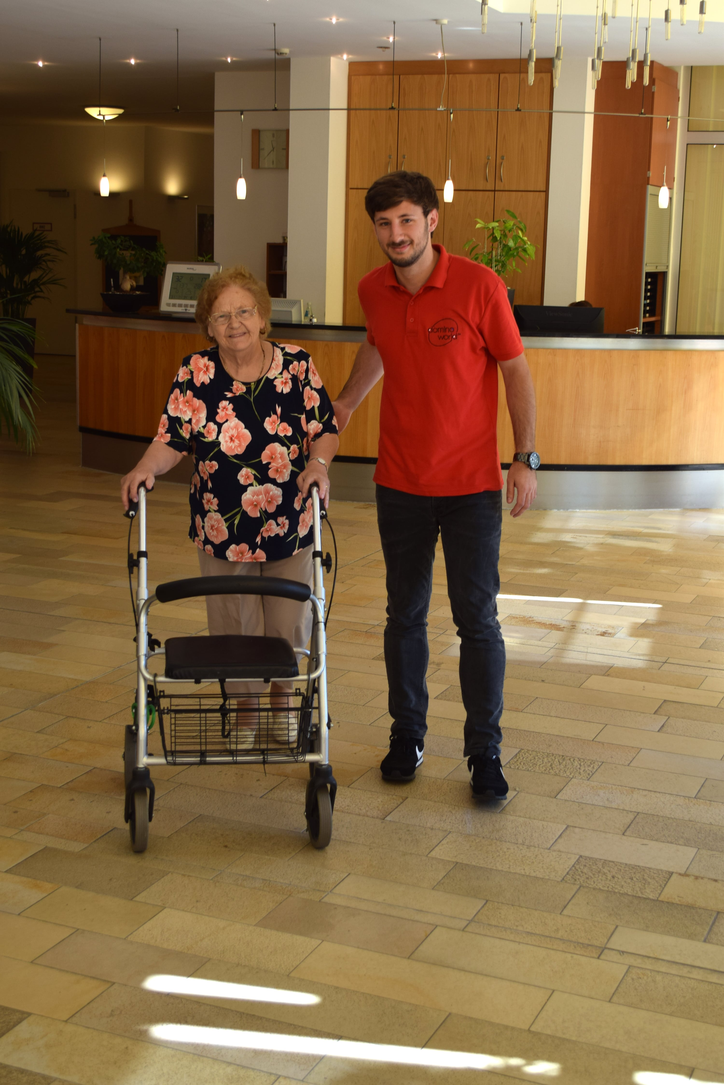 Altenpfleger Azubi Interview