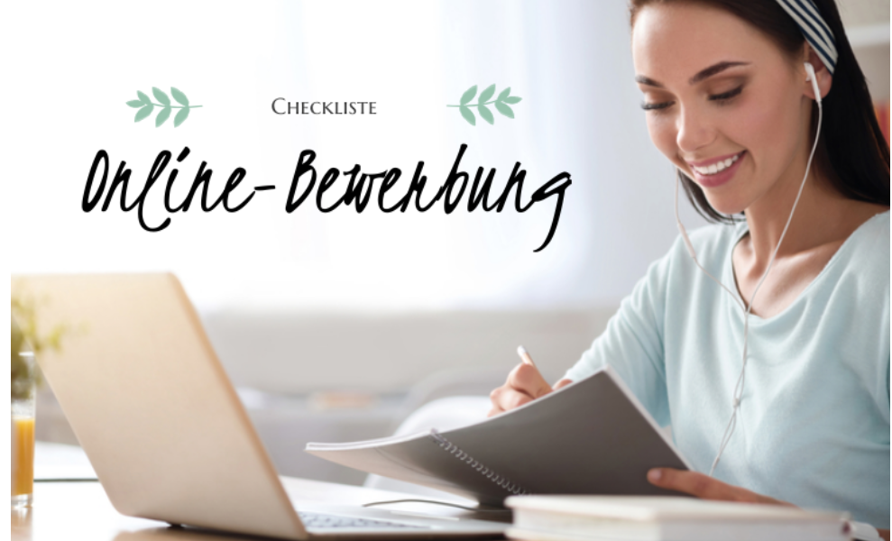 Online-Bewerbung: Die ultimative Checkliste für den Aufbau
