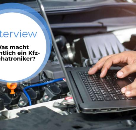 Azubi-Interview: Was macht eigentlich ein Kfz-Mechatroniker?