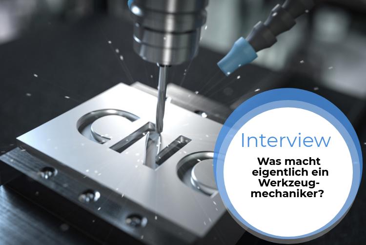 Azubi-Interview: Was macht ein Werkzeugmechaniker?