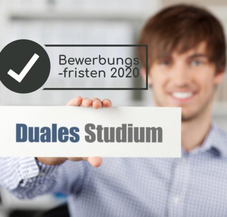 Duales Studium 2020: Zeitplanung und Bewerbungsfristen