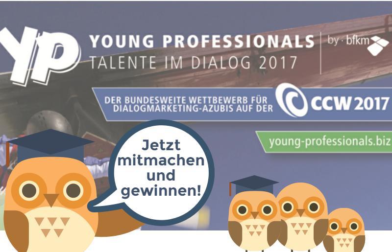 Young Professionals – Talente im Dialog 2017 – der bundesweite Azubi-Wettbewerb
